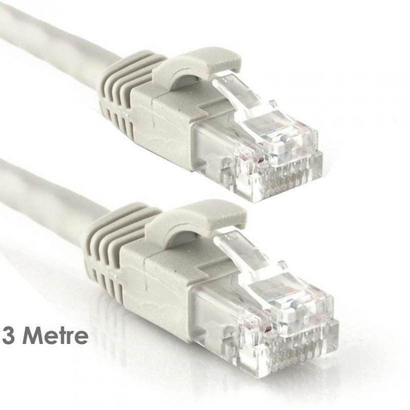 Cat6 Patch Network Ethernet Kablo 3 Metre