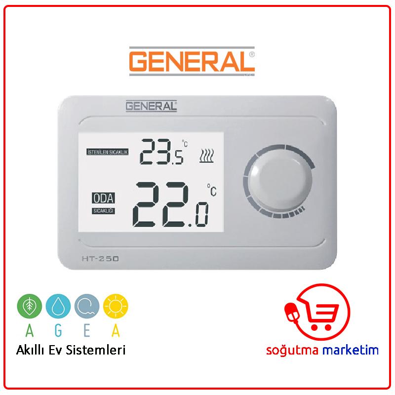 HT-250 Kablolu Dijital Oda Termostatı-www.sogutmamarketim