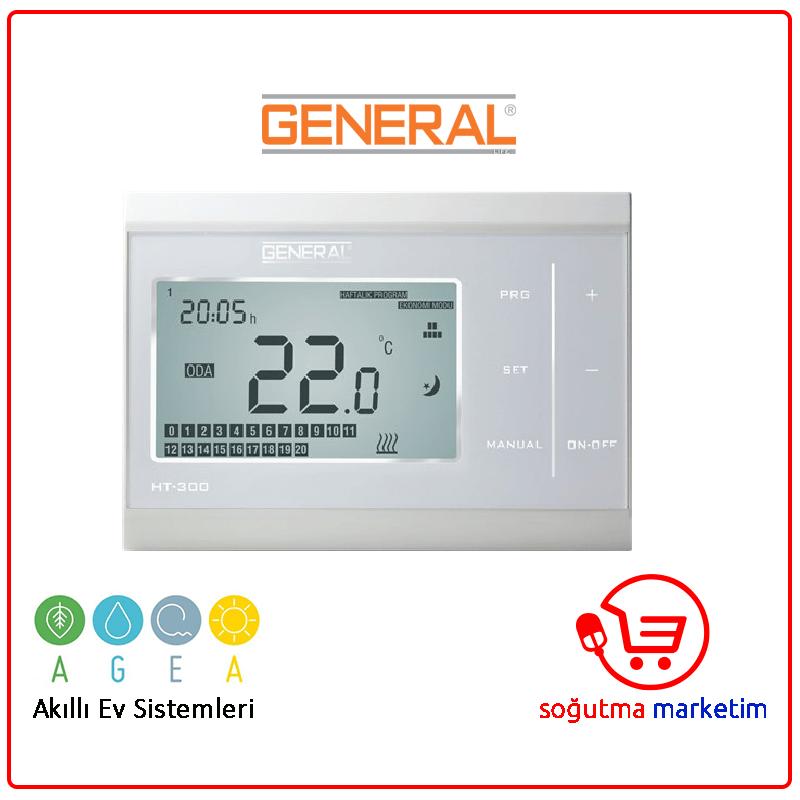 HT-300 Kablolu Dijital Oda Termostatı-www.sogutmamarketim