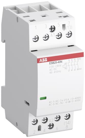 ABB - 1SAE231111R0640 Tesisat Kontaktörü ESB25-40N 25A