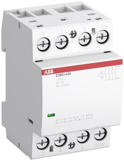 ABB - 1SAE351111R0620 Tesisat Kontaktörü ESB63-20N 63A
