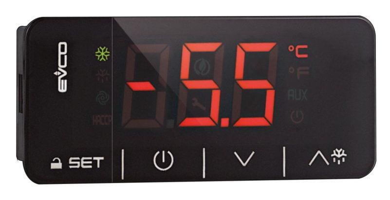 Dijital Termostat EV3X21N7 Defrost Kontrollü Dokunmatik Ekranlı Tek Porblu ( Prob Dahil )