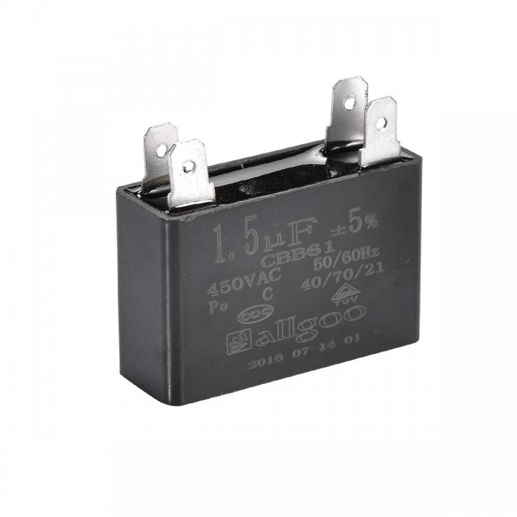 Kare Kondansatör 1.5 µF 450 VAC - 50_60 Hz