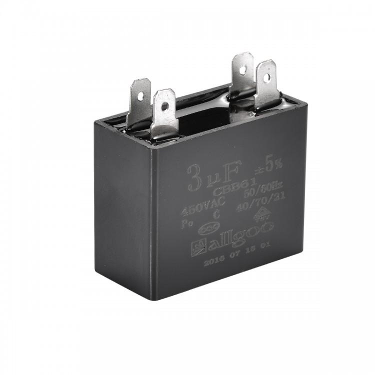 Kare Kondansatör 3 µF 450 VAC - 50-60 Hz