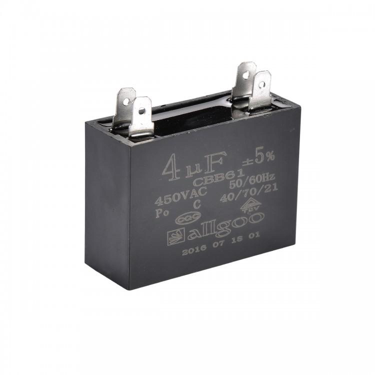 Kare Kondansatör 4 µF 450 VAC - 50-60 Hz