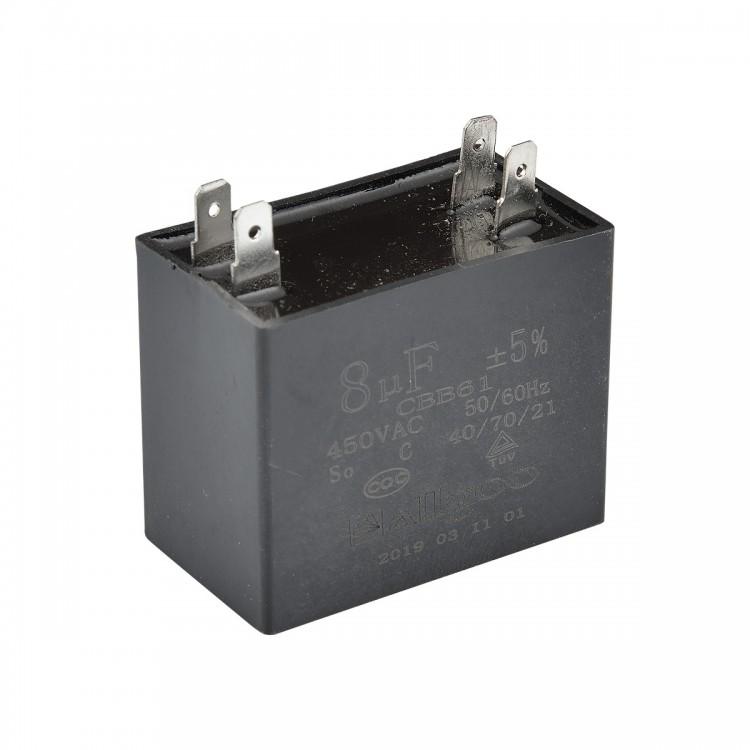 Kare Kondansatör 8 µF 450 VAC - 50-60 Hz