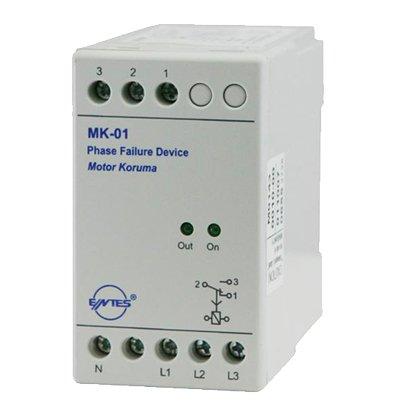 Entes Motor (Faz) Koruma Röleleri MK01