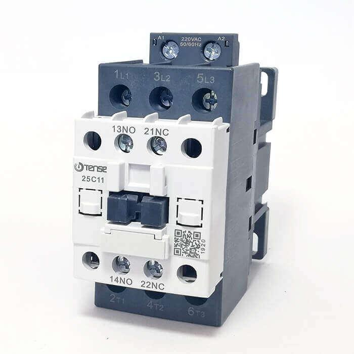 UEC1-25C11M7 25A 1NO+1NC Kontaklı Güç Kontaktörü TENSE