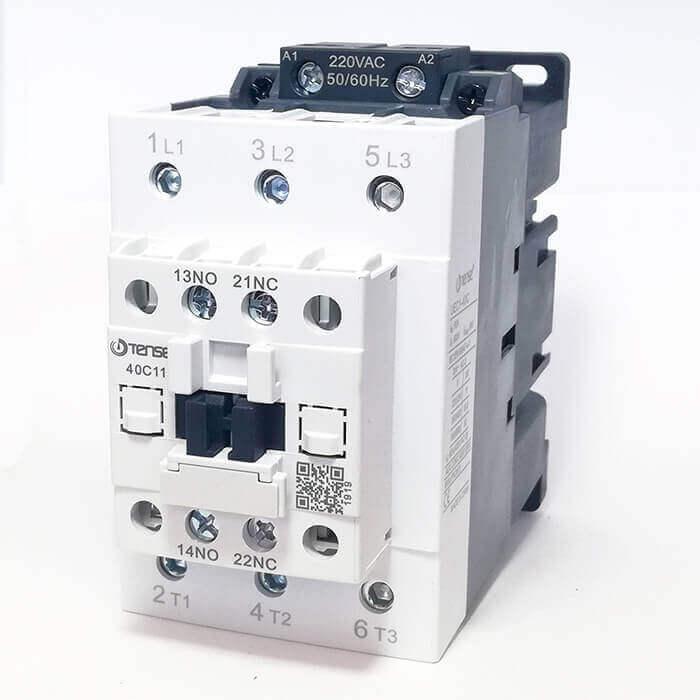 UEC1-40C11M7 40A 1NO+1NC Kontaklı Güç Kontaktörü TENSE