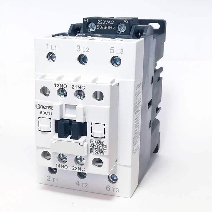 UEC1-50C11M7 50A 1NO+1NC Kontaklı Güç Kontaktörü TENSE