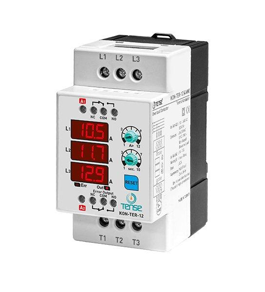 KON-TER-12 12A 5,5KW Dijital Kontaktör ve Termik Röle TENSE