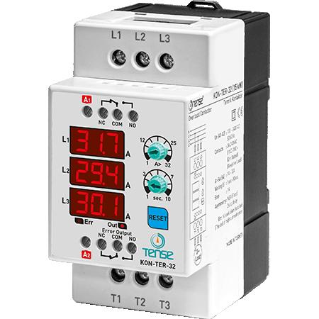 KON-TER-32 32A 15KW Dijital Kontaktör ve Termik Röle TENSE