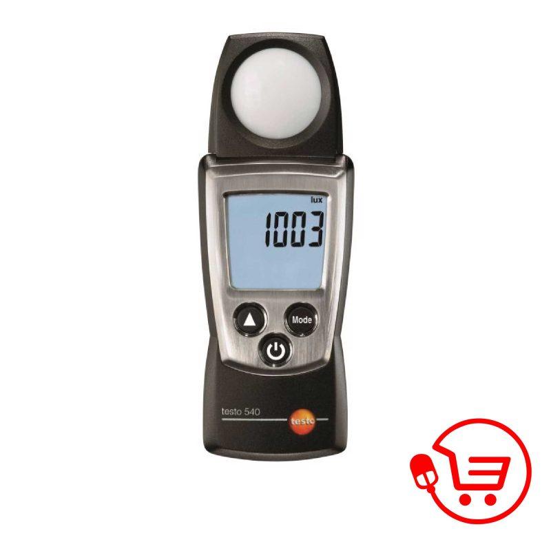 testo-540-Işık-şiddeti-ölçüm-cihazı